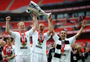 Swansea City Play Off Winners 2010-2011