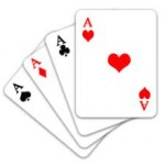 Why is a pack of cards divided into different suits?