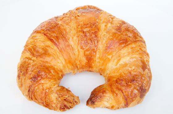 Why are croissants the shape they are?