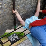 Who first thought of kissing the Blarney Stone?