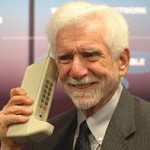 The first mobile phone call in the UK