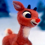 The origins of Rudolph the red nosed reindeer
