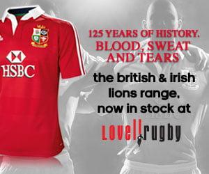 Biritsh Lions Jersey 2013