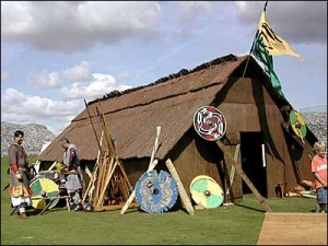 Viking Long House at Old Sarum