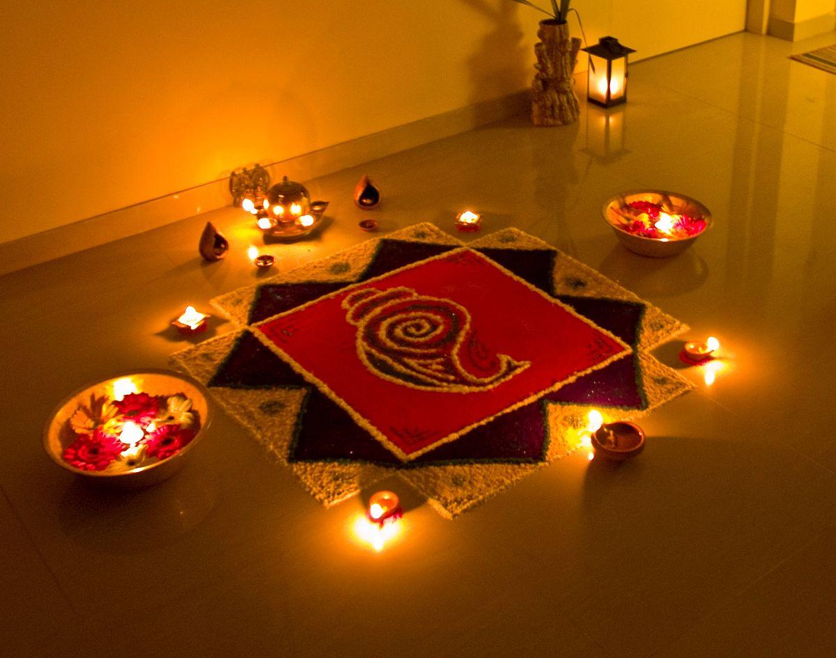 Rangoli of Lights