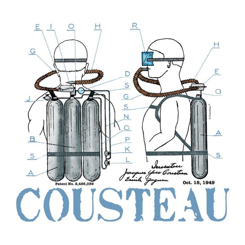 Jacque Cousteau Aqualung