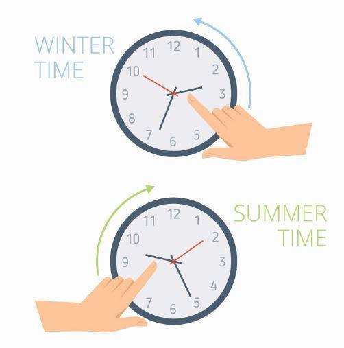 Change the clocks
