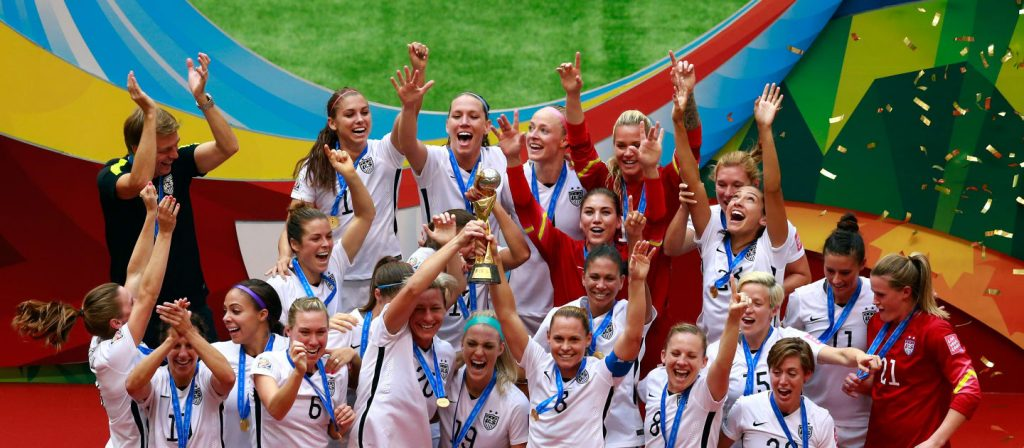FIFA WWC Winners 2015 USA
